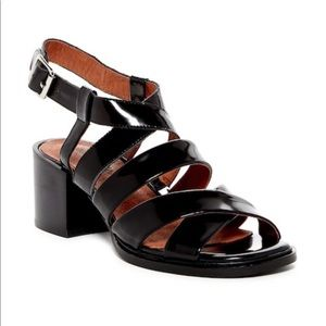 Jeffrey Campbell patent leather Sharla sandals